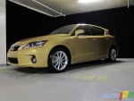 2011 Lexus CT 200h First Impressions