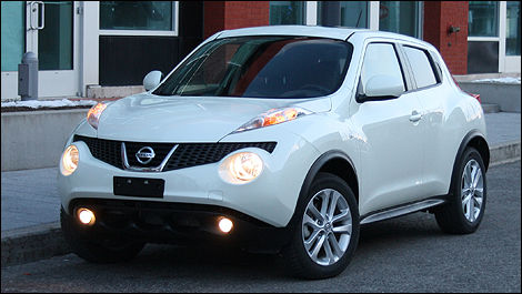 The Juke Is A Pimple Faced Versa On High Heels And Hooked On Anabolic  Steroids. Maybe Not. (Photo: Michel Deslauriers/Auto123.com)