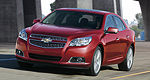 Chevrolet reveals the 2013 Malibu: new engine, sportier looks