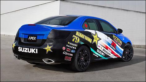 New York 2011 Suzuki Unveils Kizashi Ecocharge And Apex Concepts