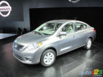2011 New York Auto Show: 2012 Nissan Versa Sedan