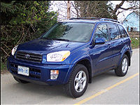 2003 Toyota RAV4 Limited Road Test