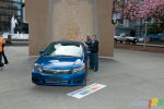 2012 Civic Launch In Front of the Vancouver Art Gallery