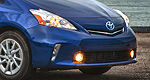 Toyota reveals Prius v, a green car for the family