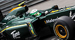 F1: Les notes du Team Lotus sur le circuit de Monaco