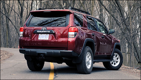 2011 toyota 4runner trail edition review editor 39 s review. Black Bedroom Furniture Sets. Home Design Ideas