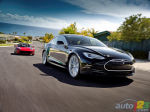 Tesla Motors pr�sente la Model S et plus encore