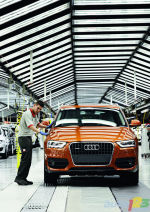 Audi Q3 goes into production in Spain