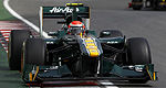 F1: Team Lotus confirme une entente technique avec Williams F1