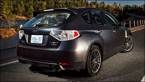 2011 Subaru Impreza WRX 5-door Review (video) Editor's