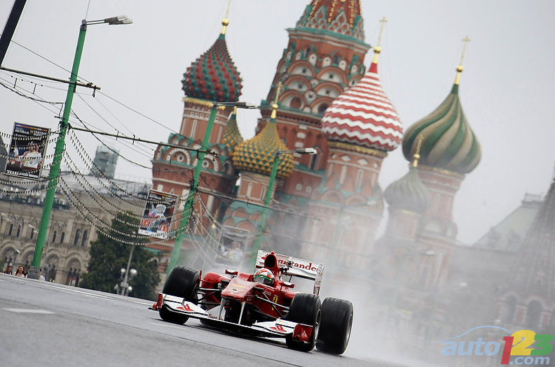 Lovely F1: Russia Gets A Taste Of Formula 1 (+photos U0026 Video)