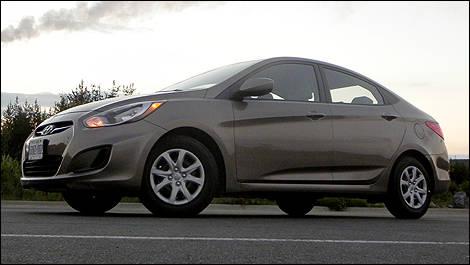 2012 Hyundai Accent Gl Sedan Review Editor S Review Car Reviews