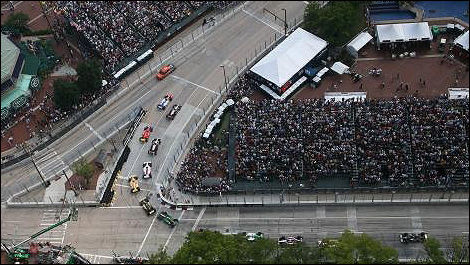 Start of the Baltimore Grand Prix (Photo: LAT/IndyCar)