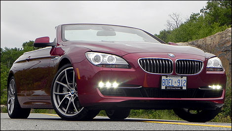 2017 Bmw 650i Cabriolet Front 3 4 View