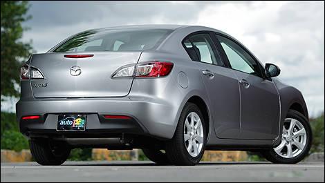 Nice 2011 Mazda3 GX Rear 3/4 View
