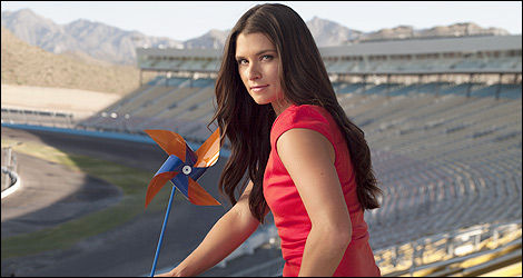 Danica Patrick. (Photo: COPD Awareness)