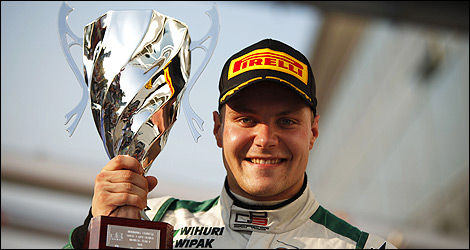 Valtteri Bottas, 2011 GP3 champion, (Photo: GP3 series)