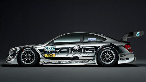 Mercedes Classe C Coupé AMG DTM (Photo: Mercedes-Benz)