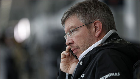 Ross Brawn, Mercedes GP (Photo: WRi2)