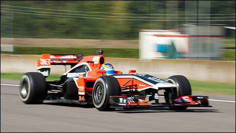 Robert Wickens, Marussia Virgin Racing Varano Italy