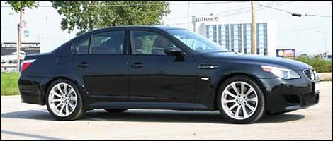 bmw m5 usag e actualit s automobile auto123. Black Bedroom Furniture Sets. Home Design Ideas