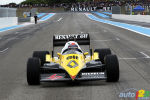 Alain Prost drives his 1983 Renault F1 car! (+photos)