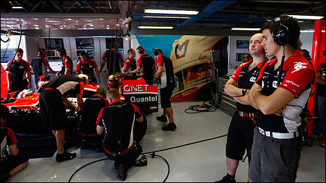 Photo: Marussia Virgin Racing
