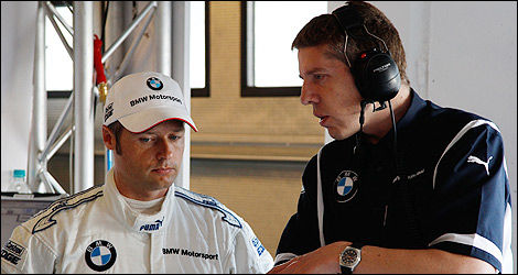 Andy Priaulx (Photo: BMW Motorsports)