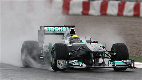 Nico Rosberg, Mercedes GP. (Photo: WRi2)