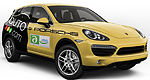 Auto123.com teams up with Porsche for the Rallye international vert de Montréal