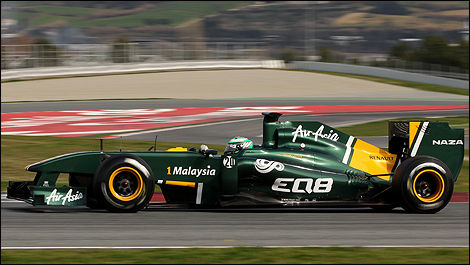 Heikki Kovalainen, Team Lotus. (Photo WRi2)