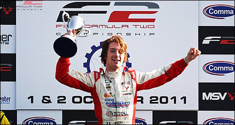Mirko Bortolotti, champion F2 2011. (Photo: Formula Two)