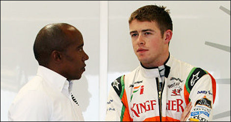 Anthony Hamilton and Paul di Resta. (Photo: WRi2)