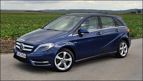 2013 mercedes benz b class first impressions editor 39 s review car news auto123. Black Bedroom Furniture Sets. Home Design Ideas