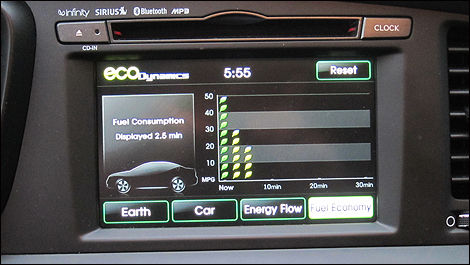 2011 Kia Optima Hybrid equipment