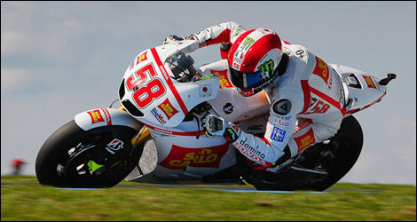 Marco Simoncelli (Photo : MotoGP)