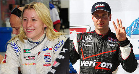Pippa Mann Will Power IndyCar
