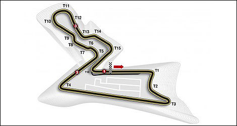 F1 India track Buddh International Circuit