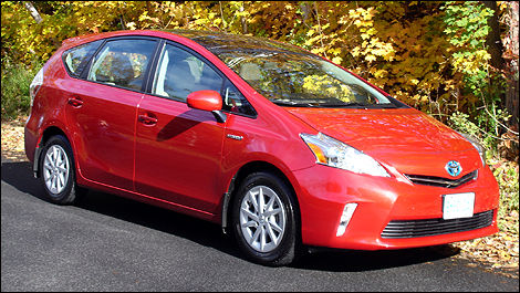 2012 Toyota Prius V First Impressions Editor S Review Car Reviews
