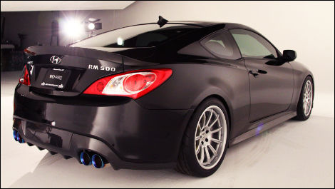 High Quality The Korean Automakeru0027s Most Potent Engine, Normally Exclusive To The Genesis  R Spec Sedan, Has Found A New Home. The RM500 Hyundai Genesis Coupe Also ...