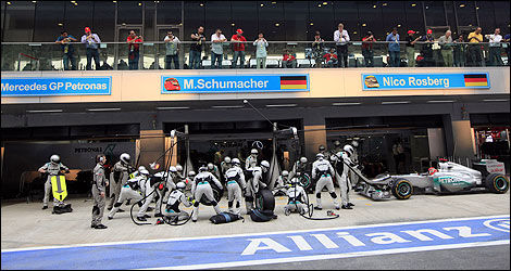 F1 Mercedes Schumacher