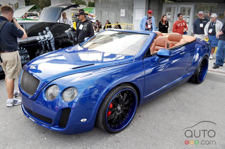 Bentley gt replica