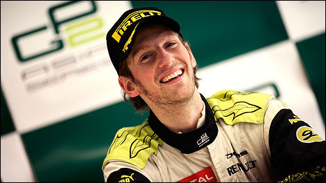 Grosjean, le prochain Kubica? (Photo: GP2)