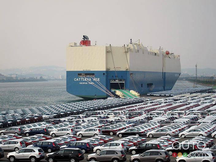 Hyundai Plant Tour Korea