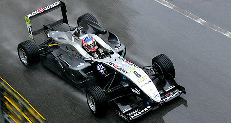 F3 Kevin Magnussen Macao