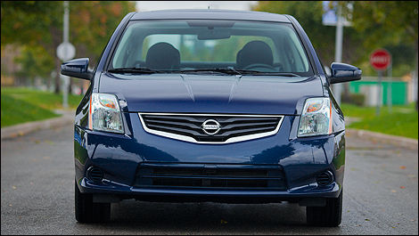 2012 Nissan Sentra 2.0 SL Front View
