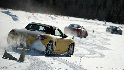 2010 Porsche winter test