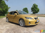 2011 Lexus CT 200h Review