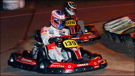 Dan Wheldon Memorial karting race UK