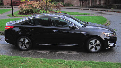 2011 Kia Optima Hybrid right side view